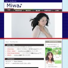 Miwa♪ Offitial Site